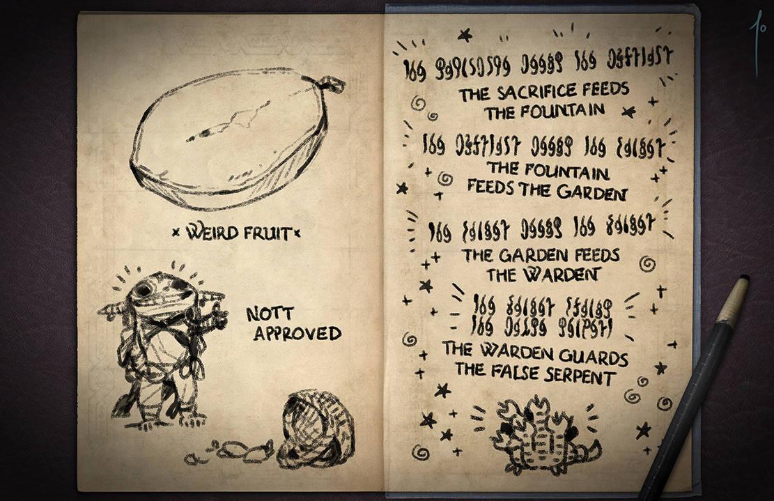 Jester's Sketchbook - spread 43 by JoannaJohnen