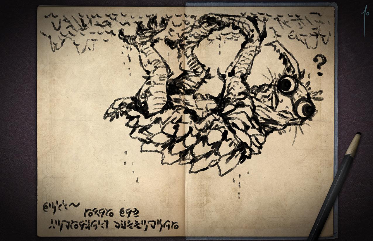 Jester's Sketchbook - spread 55 by JoannaJohnen