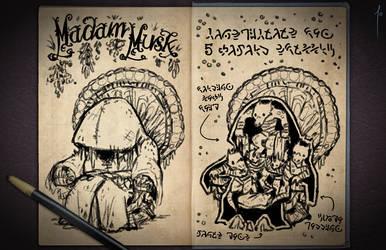 Jester's Sketchbook - spread 57 by JoannaJohnen