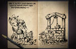 Jester's Sketchbook - spread 58