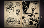 Jester's Sketchbook - spread 66