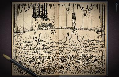 Jester's Sketchbook - spread 73