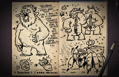Jester's Sketchbook - spread 80