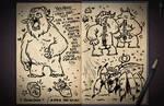 Jester's Sketchbook - spread 80