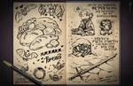 Jester's Sketchbook - spread 81