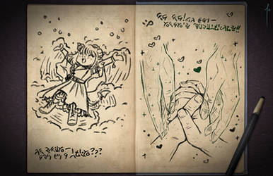 Jester's Sketchbook - spread 82