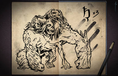Jester's Sketchbook - spread 87