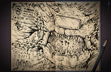 Jester's Sketchbook - spread 88
