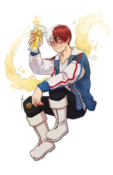 [commission] Todoroki Shouto Adult Beverage