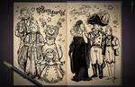 Jester's Sketchbook - spread 104