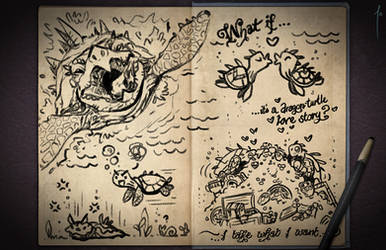 Jester's Sketchbook - spread 107