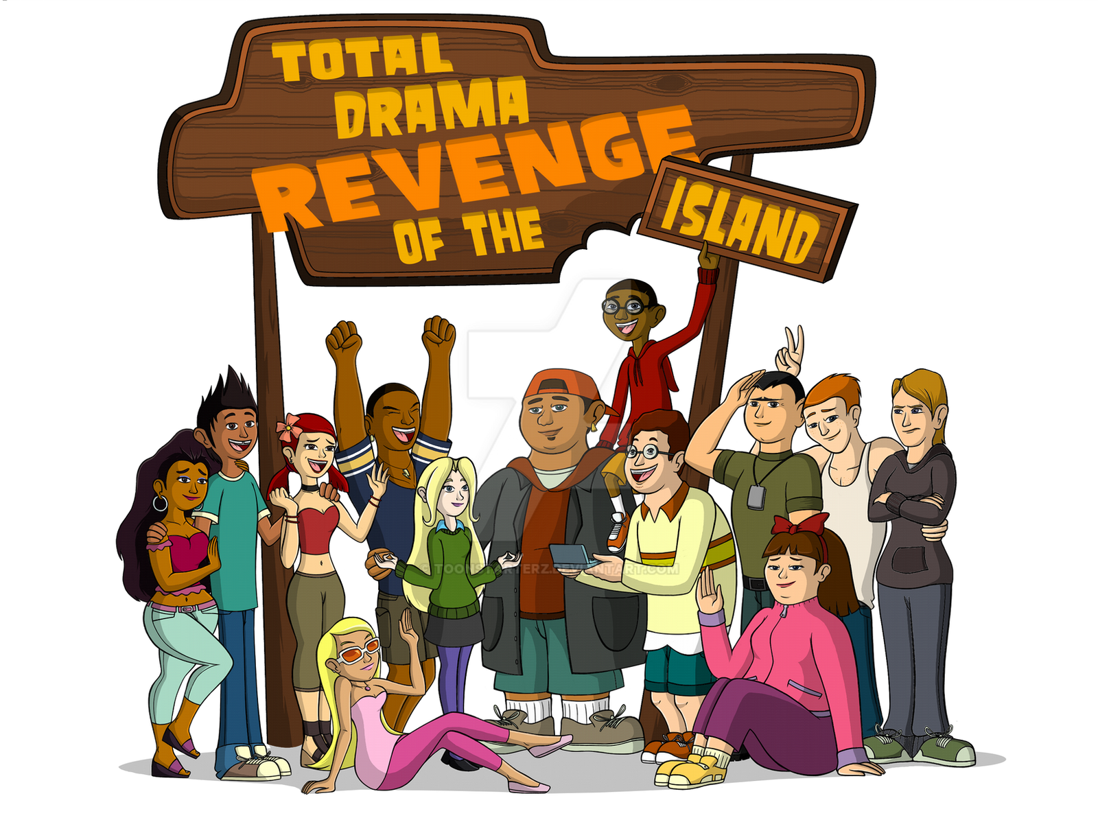 Total Drama Revenge Of The Island Kids