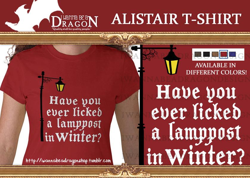 Alistair T-Shirt by Elfa-dei-boschi