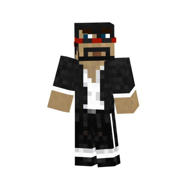 The gallery for --> Minecraft Captainsparklez Skin