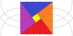 colorized pythagorean proof