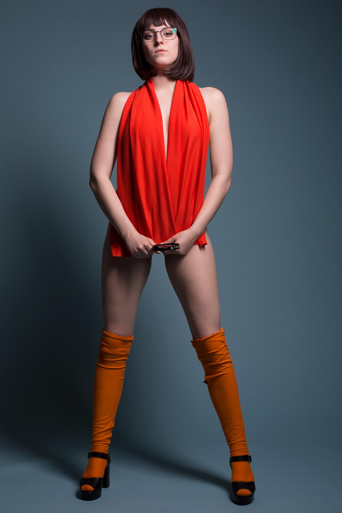 Sexy Grown Up Velma Cosplay From Scooby Doo By Officialcallmekira On Deviantart