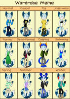 Wardrobe Meme! by Rainy-bleu