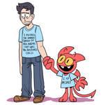 matching shirts!