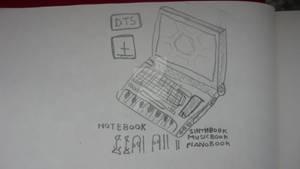 NoteBook SinthBook MusicBook PianoBook