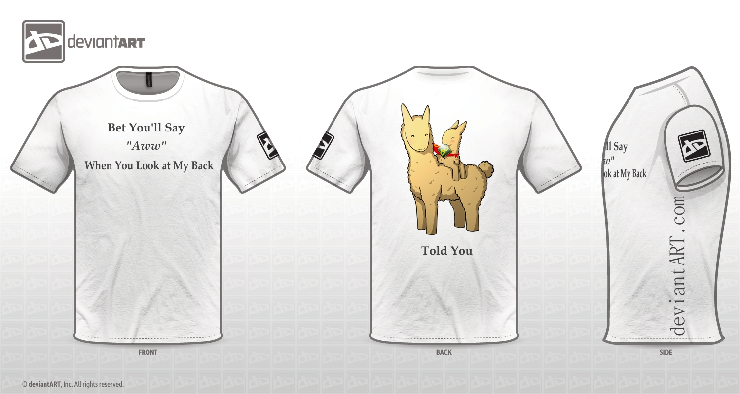 Told You: Shirt Comp by A-R-T-3-M-I-S