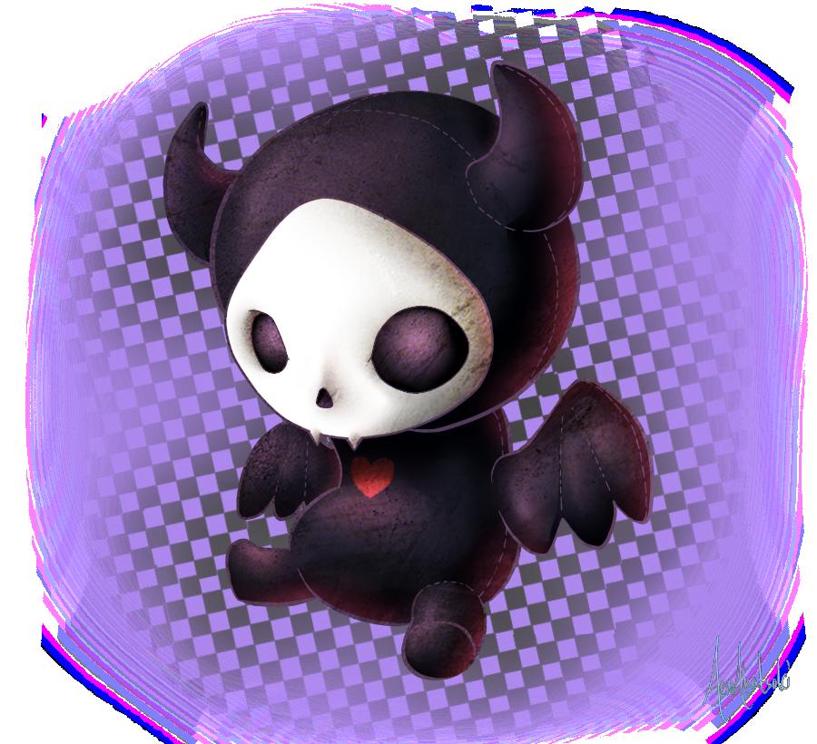 Toy Bat by A-R-T-3-M-I-S