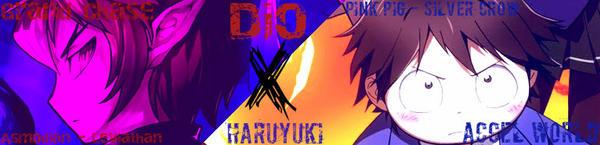 GCxAW - DioxHaruyuki deviantID by Shiroyama03