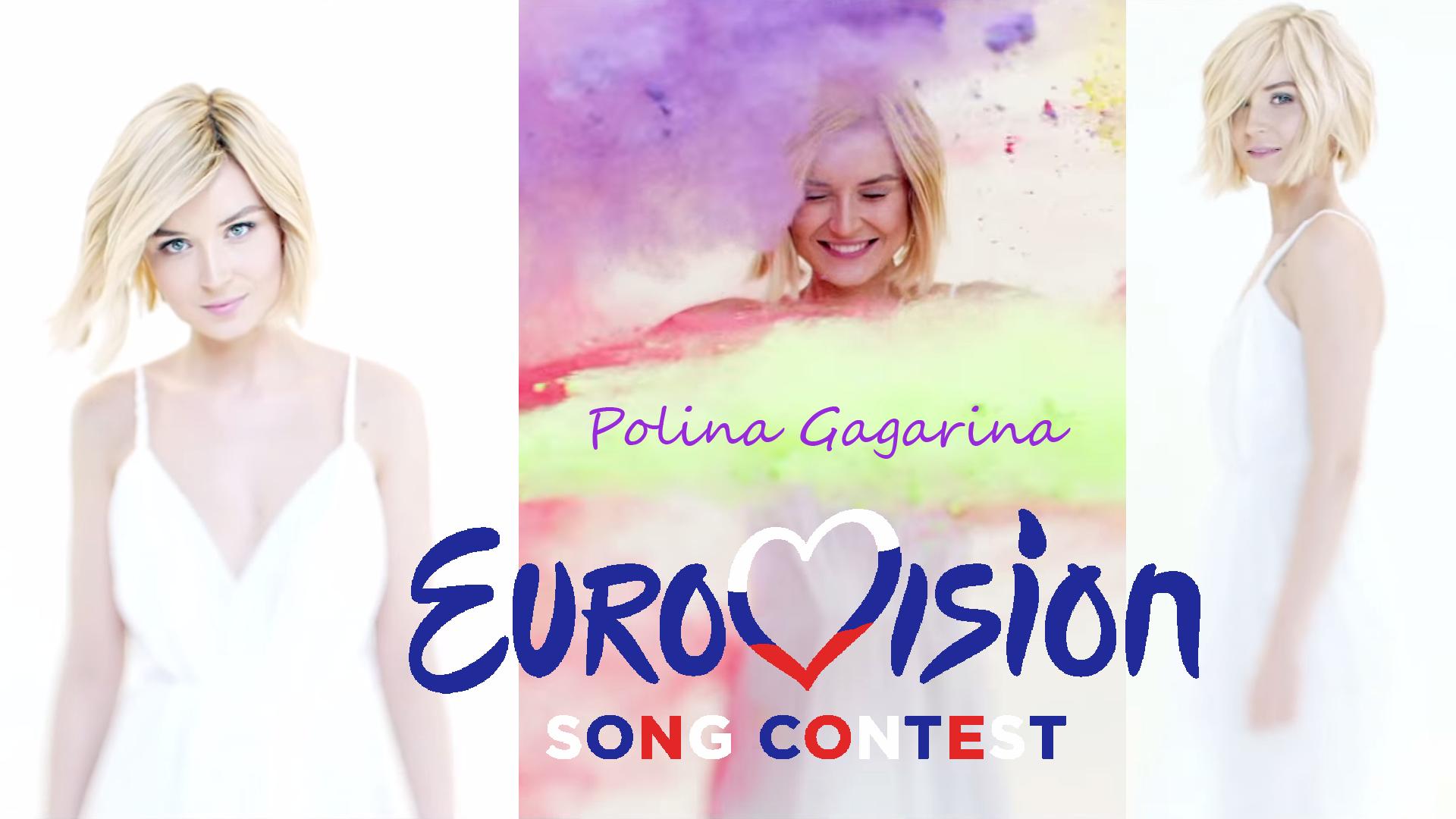 Polina Gagarina EuroVision-2015 Wallpaper 1/2