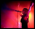 Simone Simons. Live Norway 22