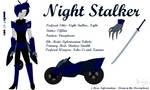 [OUTDATED REF.] TFA OC - Night Stalker by KcMangleWolf0587
