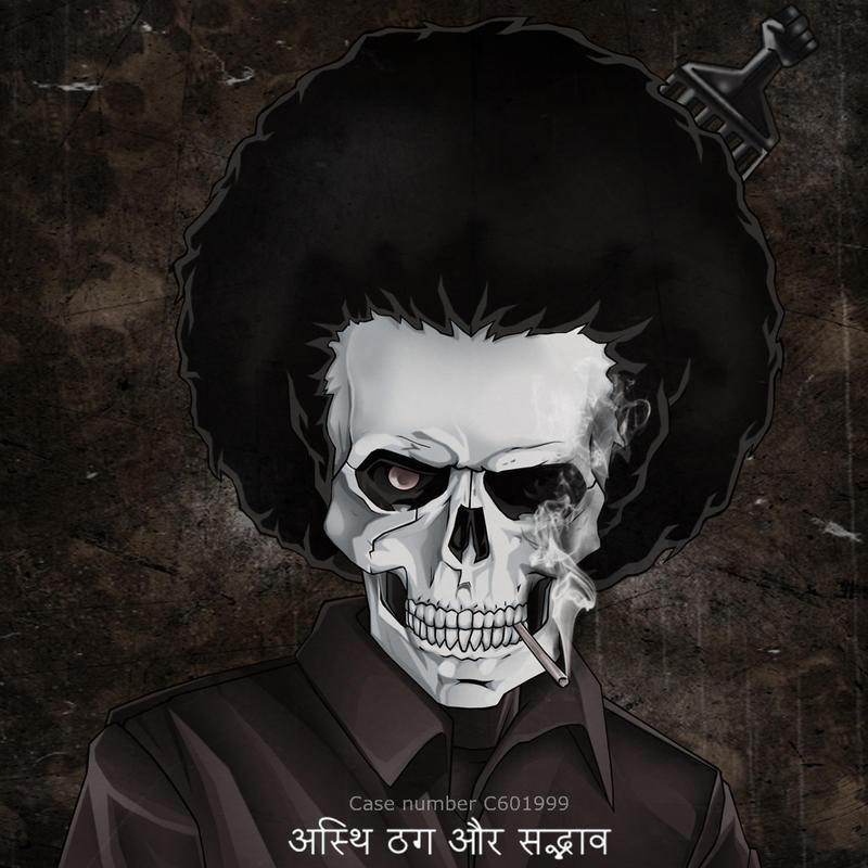 THUGS Bone Thugs N Harmony Skull Black Men's Tees Size S ...  |Bone Thugs Skull