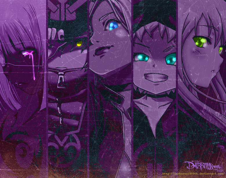 The Five Deadly Assassins by Darkness1999th