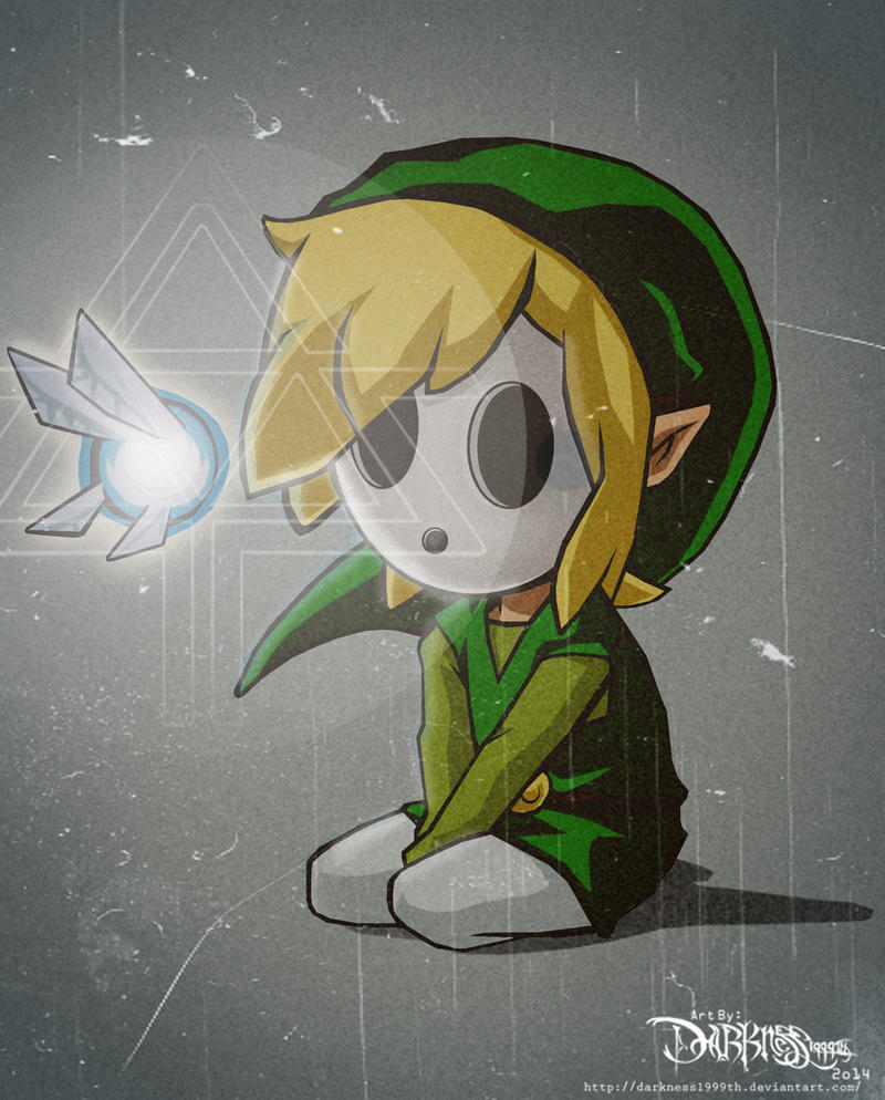 Shy Link by Darkness1999th