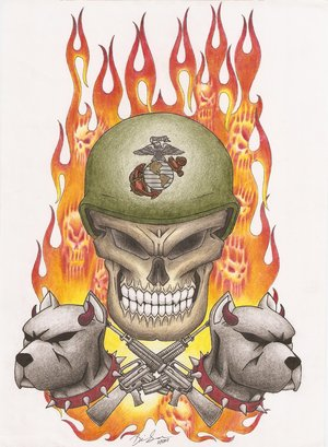 usmc tattoos. Science that tattoos that