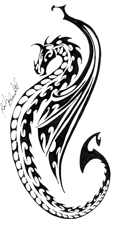 Dragon Tat by DesignTheSkinYourIn
