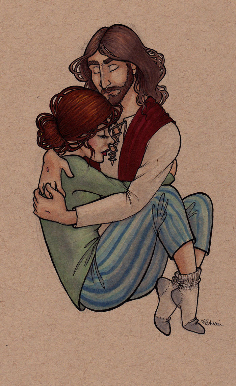 Divine Hug By AucoinArt