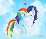 MLP - Rainbow Dash and Soarin