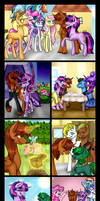MLP: The Light of Friendship Comic by overtherainbw