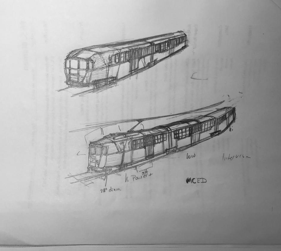 Light Rail Vehicle by Bolo42