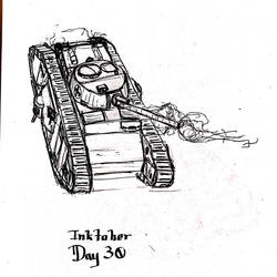 Inktober Day 30 by Bolo42