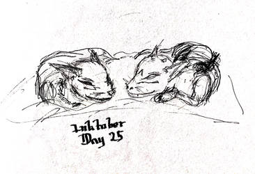 Inktober Day 25 by Bolo42