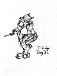 Inktober Day 22 by Bolo42