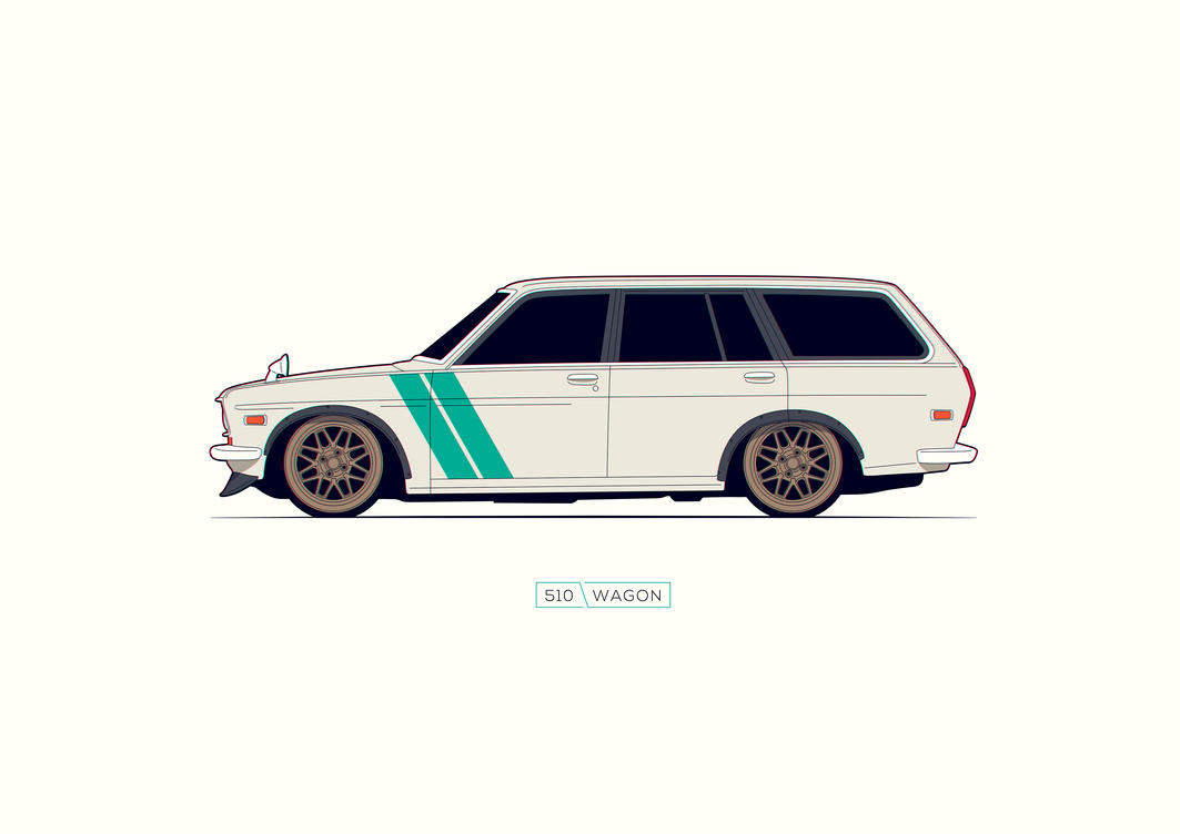 Datsun 510 Wagon by R-GT