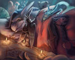 Summoning a demon cat by Impostor-Ifa