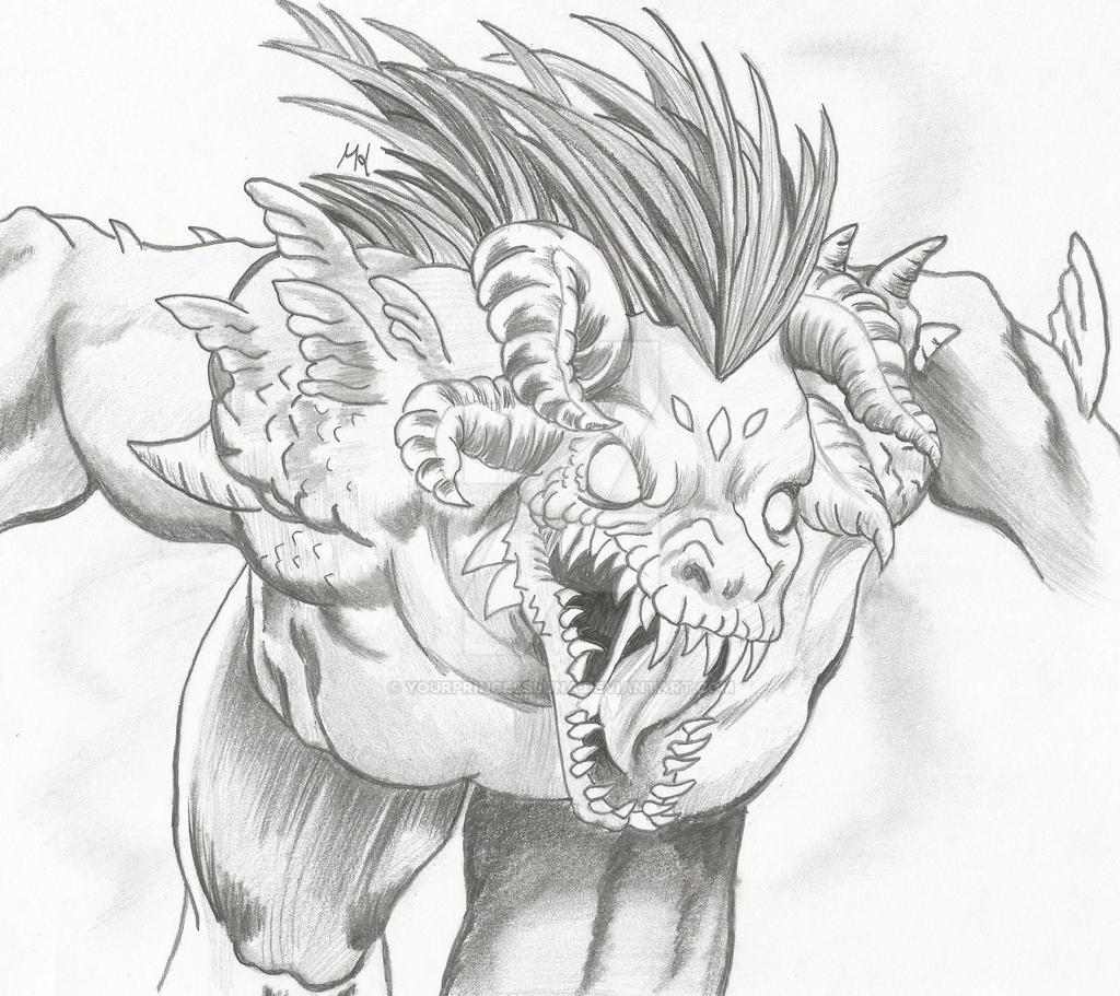 Queen Shiklah - Monster Form by YourPrincessLuna on DeviantArt