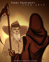 Terry  Pratchett by gulavisual