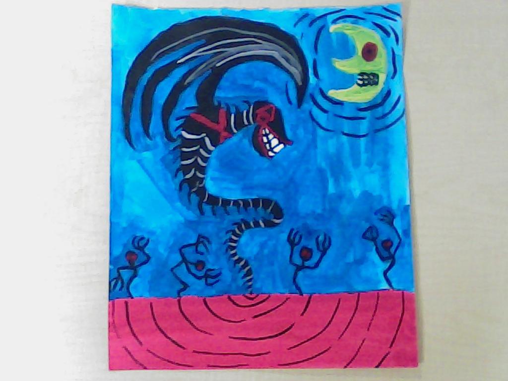Nidhog,The Mad Dragon by MLT447