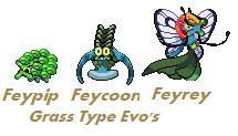 Grass Type Evalution02 by Doggamaran