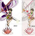 Comparison of New and Original Shima