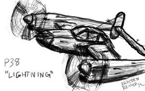 P38 Lightning by neon280