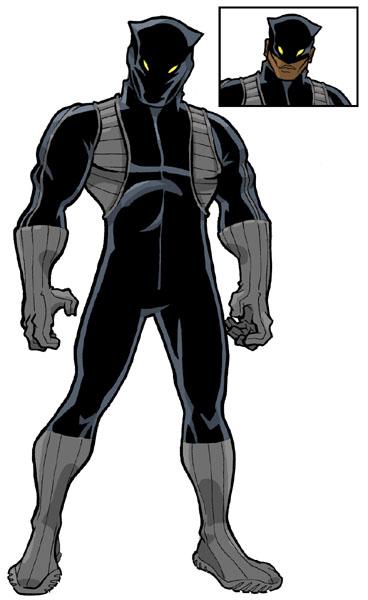 Black Panther by JoelRCarroll